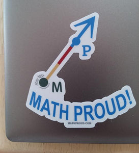 Math Proud Official Ray - Ray MP VINYL STICKER