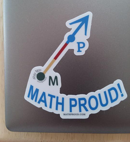 Math Proud Official Ray - Ray MP Sticker