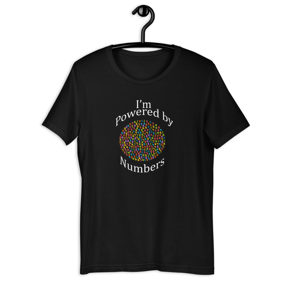 Power up your closet with this I'm Powered by Numbers - Adult T-shirt