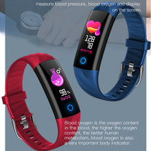 "Load image into Gallery viewer, ""LIGE"" UNISEX Smartwatch ! Wrist Band Heart Rate, Blood Pressure Oxygen Monitor, Sport Bracelet Waterproof Watch !"
