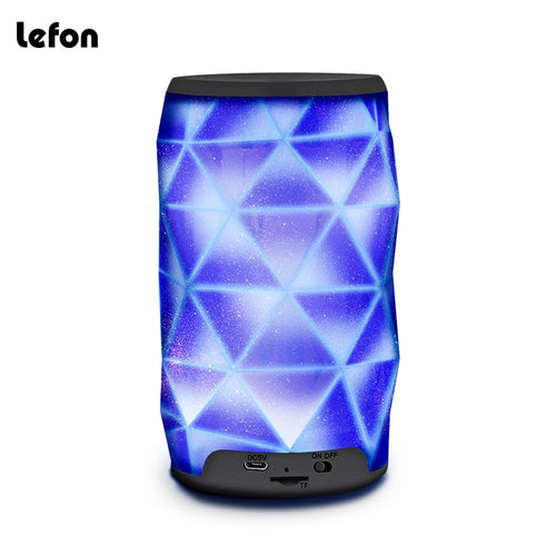 Bluetooth LED Diamond Shape Portable Wireless Speaker