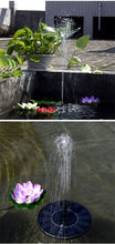 Load image into Gallery viewer, Solar Water Fountain Garden Pond Power Panel Kit