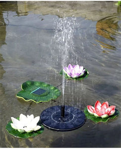 Solar Water Fountain Garden Pond Power Panel Kit