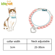 Load image into Gallery viewer, Dog,Cat or Puppy Pearl Jewelry Love Collar ! Fashion Pet Pendant Necklace.