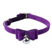 Load image into Gallery viewer, 3 Styles of Cute Cat, Dog Adjustable Leather Collars