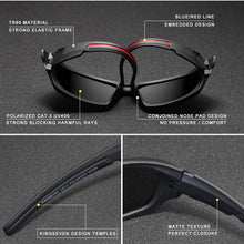 Load image into Gallery viewer, Men Luxury Brand Designer Vintage Polarized Driving Sun Glasses