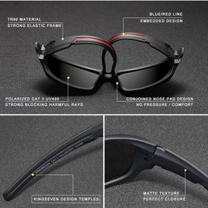 Men Luxury Brand Designer Vintage Polarized Driving Sun Glasses
