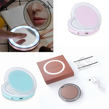 Load image into Gallery viewer, LED Touch Screen Makeup Mirror with 3X Magnifying !