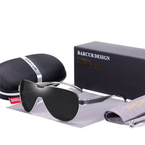 """BARCUR"" Designer Brand UNISEX Polarized Sunglasses ( Sports Eye-wear )"