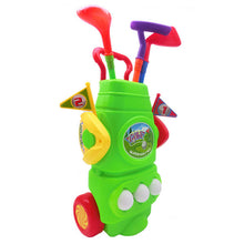 Load image into Gallery viewer, Kids Plastic Golf Toy Set with Bag