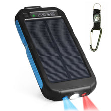 Load image into Gallery viewer, 50000mAh Sport Solar Battery Power-Bank Charger for Camping,Hiking,Travel