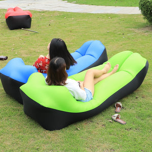 2019 New Outdoor/ Indoor Rapid Inflatable Lazy Sofa Lounge with Pillow