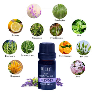 10 ML Floral Fruity Essential Oil for Diffuser Aromatherapy