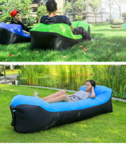 Load image into Gallery viewer, 2019 New Outdoor/ Indoor Rapid Inflatable Lazy Sofa Lounge with Pillow