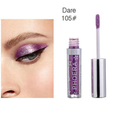 Load image into Gallery viewer, 2018 Brand New  PHOERA  Magnificent Metals Glitter and Glow Liquid Eye Shadow