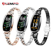 Load image into Gallery viewer, Women Waterproof Heart Rate Monitoring Bluetooth Smart Watch.