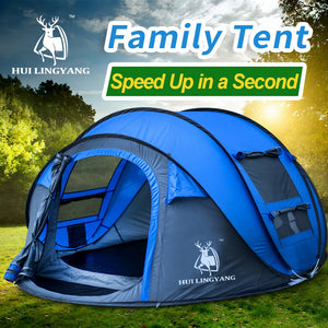 Automatic Pop Up Waterproof Tent !