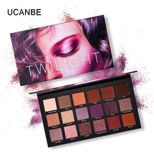 Load image into Gallery viewer, Aromas Nude Eye Shadow Palette in 18 Colors. Eye Shadow Shimmer Matte Glitter Powder That's Waterproof