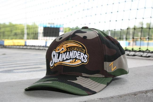 Salamanders Camo adjustable cap