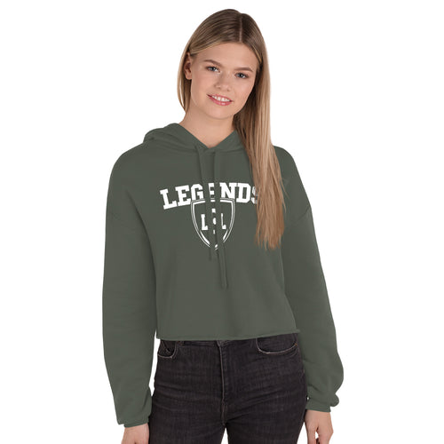 Legends Women's Crop Hoodie