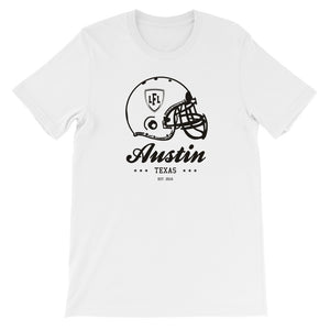 Austin Acoustic City Helmet Men's Crew Tee