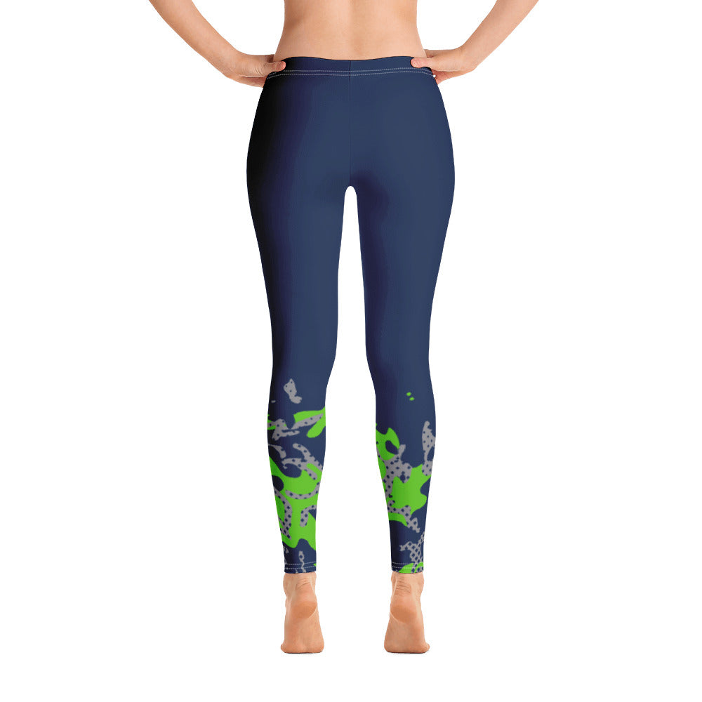 Seattle Mist Season X Away Kit Leggings