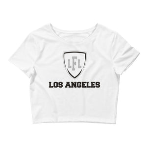 Los Angeles Women's Shield Crop Tee