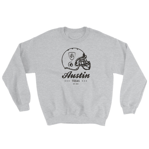 Austin Acoustic City Helmet Men's Crew Sweatshirt