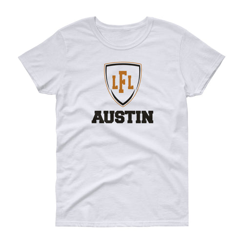 Austin Acoustic City Shield Women's Tee