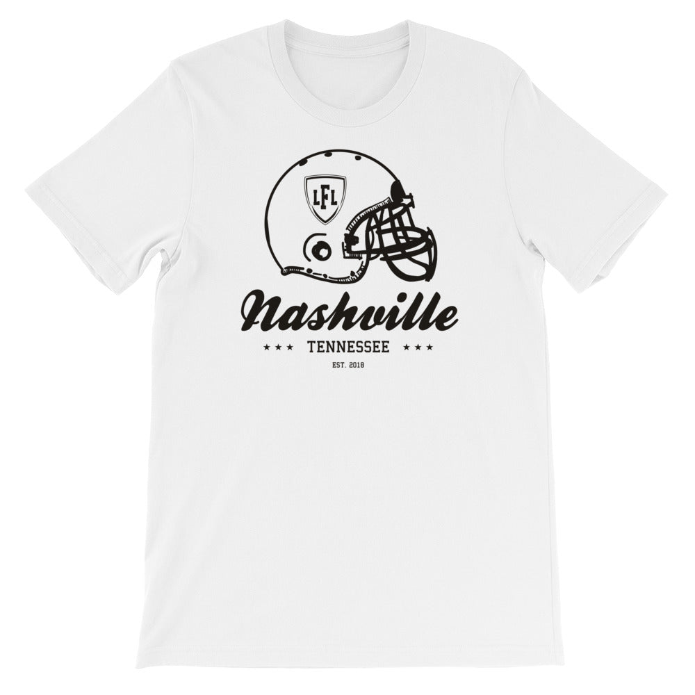 Nashville Knights City Helmet Men's Crew Tee