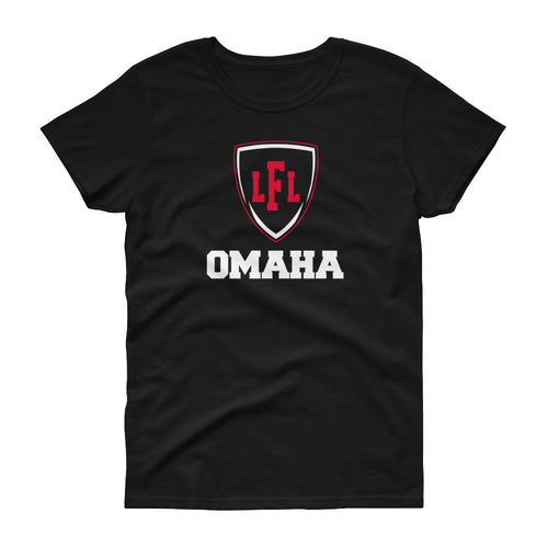 Omaha Heart City Shield Women's Tee