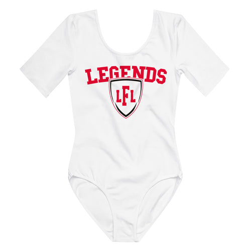 Omaha Heart Legends Shield Short Sleeve Bodysuit