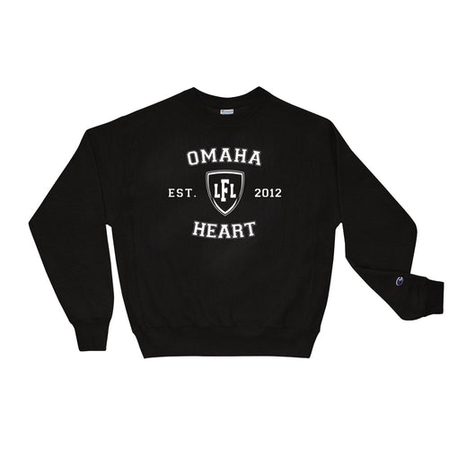 Omaha Heart Champion Collegiate Men's Sweatshirt