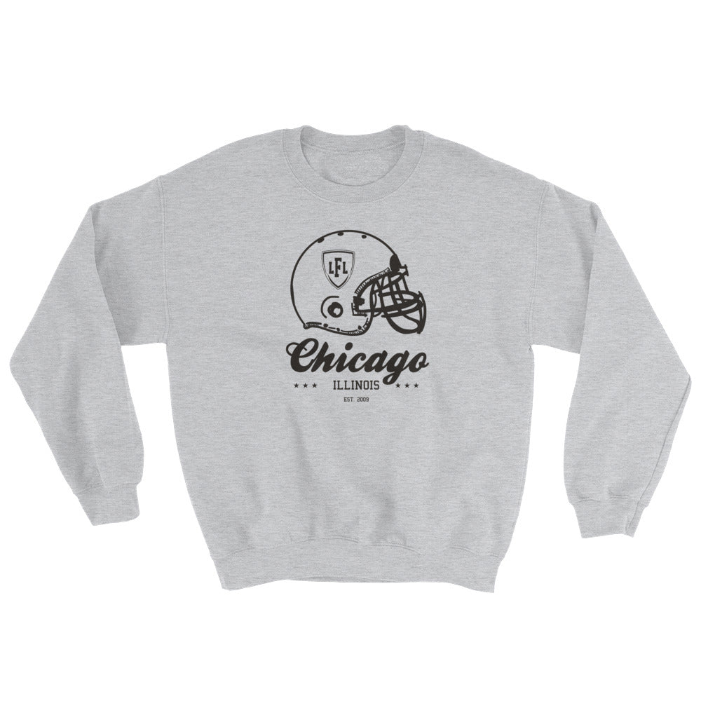 Chicago Bliss City Helmet Men's Crew Sweatshirt