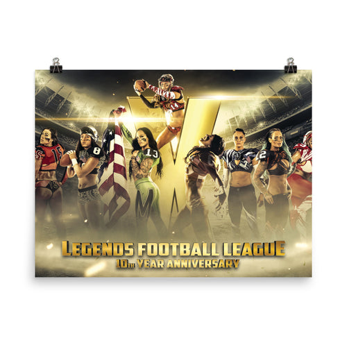 LFL 10TH Year Anniversary - Photo paper poster