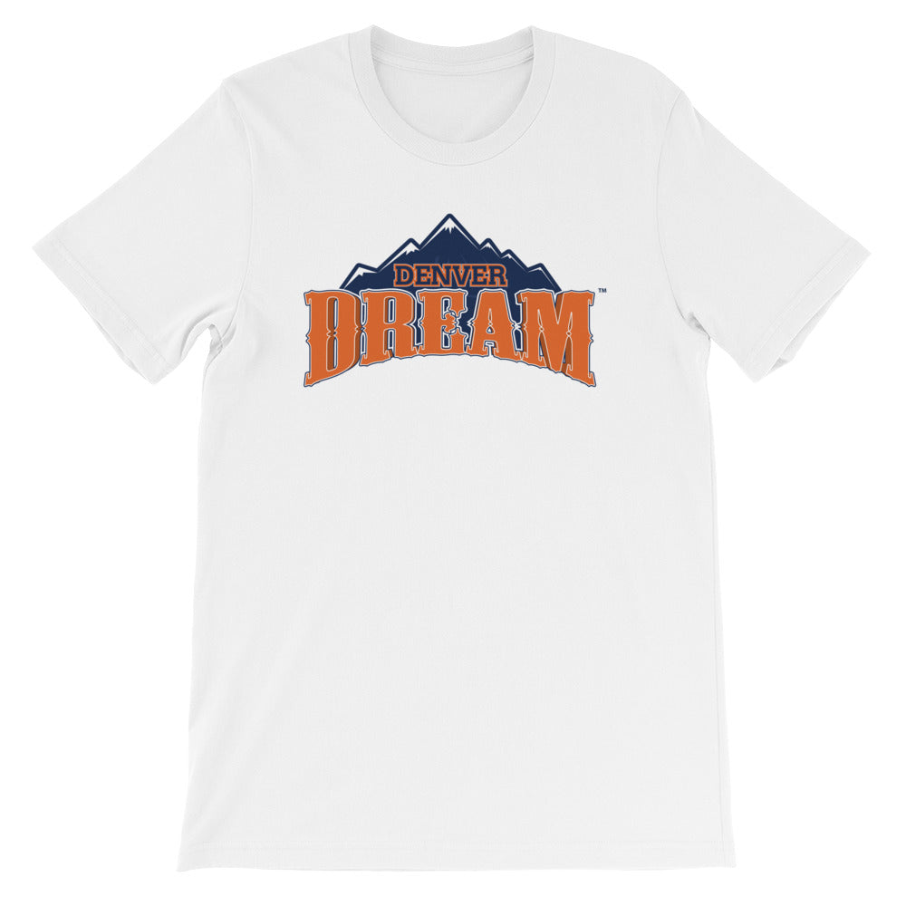 Denver Dream Team Logo Unisex Crew Tee