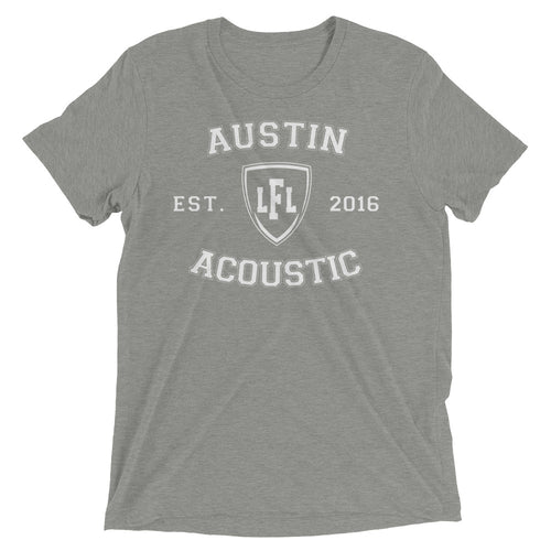Austin Acoustic Team Collegiate Unisex Tee