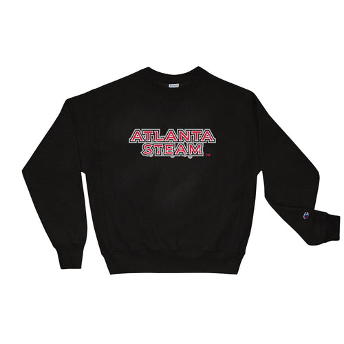 Atlanta Steam Team Logo Men's Crew Sweatshirt