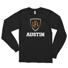 Load image into Gallery viewer, Austin Acoustic City Shield Unisex Long Sleeve Tee