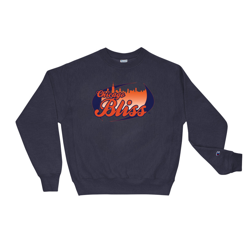 Chicago Bliss Team Logo Men's Crew Sweatshirt