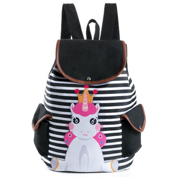 Cartable licorne princesse assise - Univer-Licorne