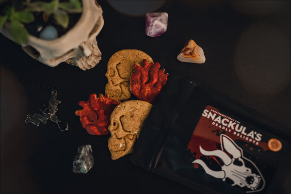 Snackula's Deadly Delights - Skulls & Hearts