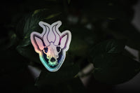 Holographic Space Mutt Sticker