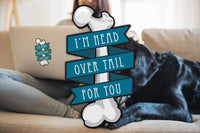 Head Over Tail Sticker