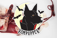 Vampupper Sticker