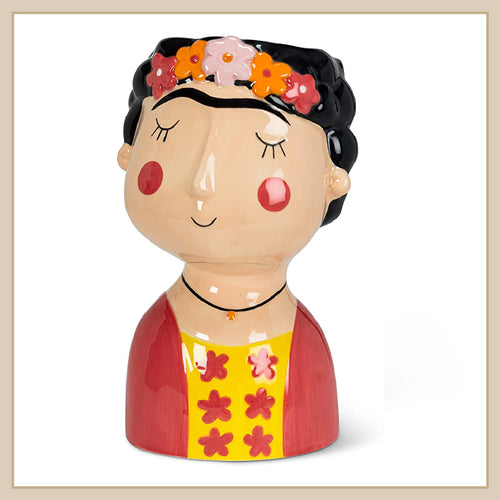 Frida lady planter – Large - Envy Paint and Design