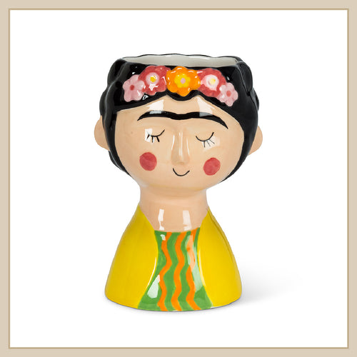 Frida lady planter – Small - Envy Paint and Design
