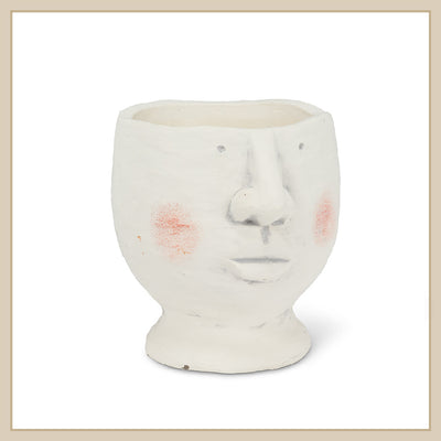 Rosy Cheek Head Planter - Envy Paint and Design