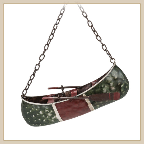 Canoe Ornament - Envy Paint and Design