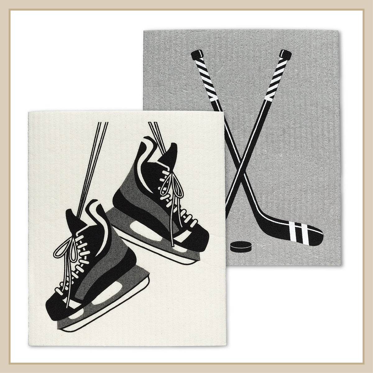 Hockey Swedish Dishcloths